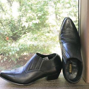 Durango Leather Ankle Boots EUC